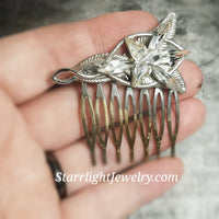 Arwens Evenstar Bridal Hair Comb
