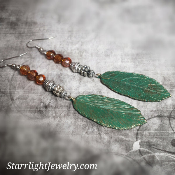 Bohemian Earth Goddess Earrings