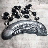 Xenomorph Head Necklace
