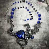 Azure Dragon Enchantress Necklace