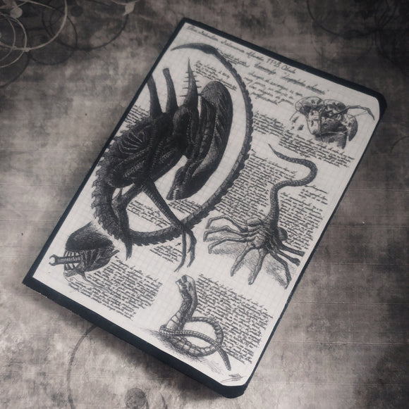 Xenomorph Alien  pocket note book