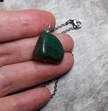Aventurine Nugget Necklace