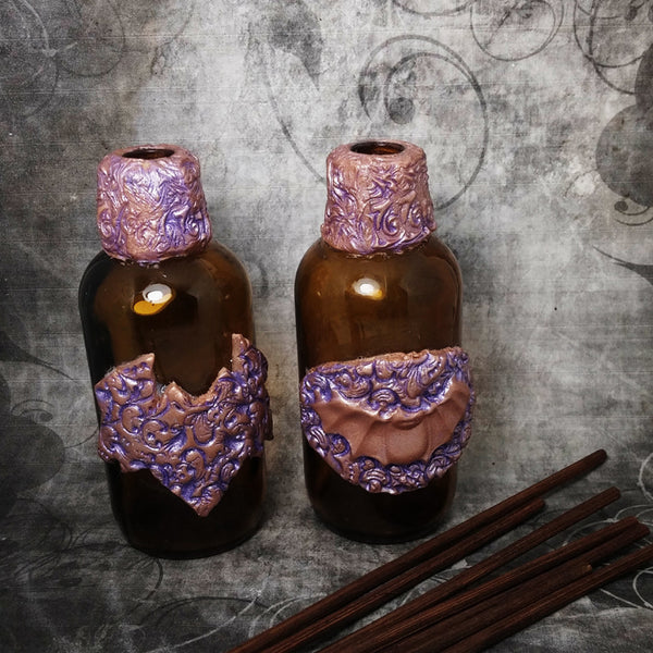Decorative Bat Bottle Decor Trinket Or Oil Diffusing