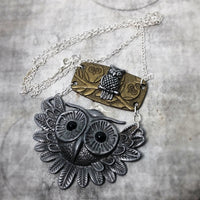Owl Lovers Delightful Multi Owl Necklace