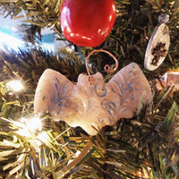 Holiday Tree Bat Ornaments - Handmade