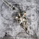 Arwens Evenstar Celestial Crystal Necklace