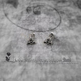 Sterling Silver Celtic Post Earrings