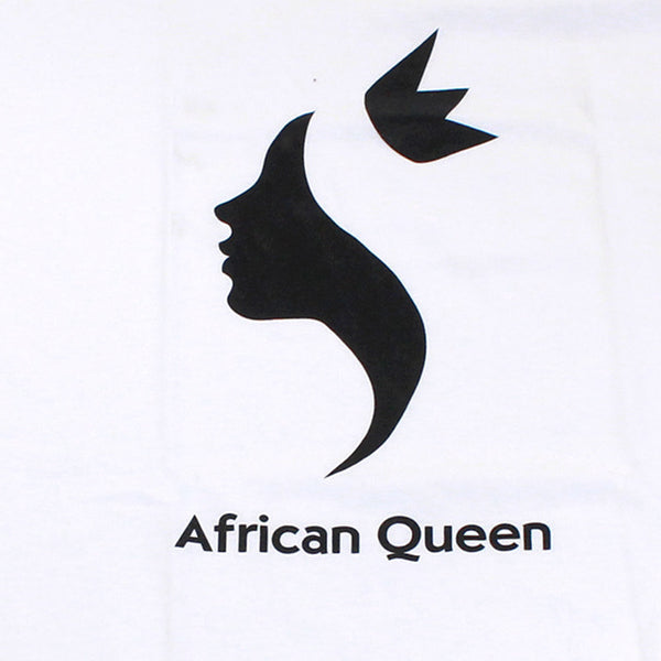 Printed African Queen T-Shirt (Medium)