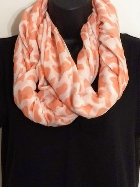 All Seasons Infinity Scarves (Only Peach Available)