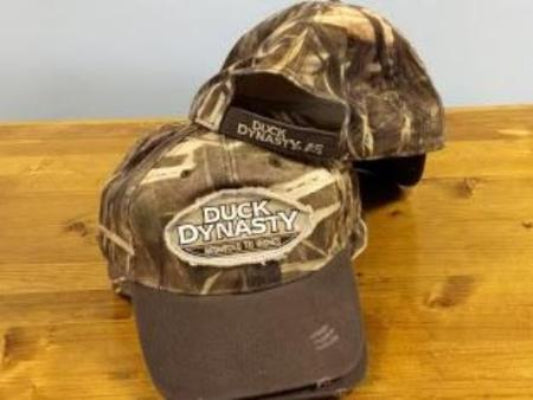 Duck Dynasty Distressed Camouflage Hat