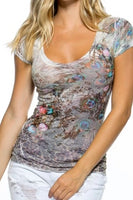 Multi-Print Lightweight Top