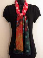 Multi-Color Sheer Scarf