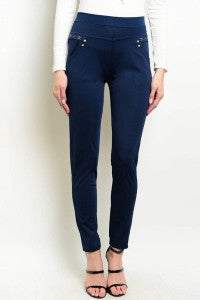 Navy Blue Slim Fit Pants (Size 1 and 2)