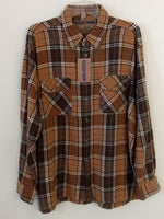 Men's Cotton Flannel Plaid Shirts