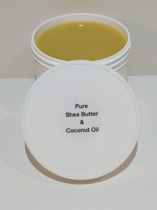 Pure Shea and Coconut Oil Butter - 4 OZ