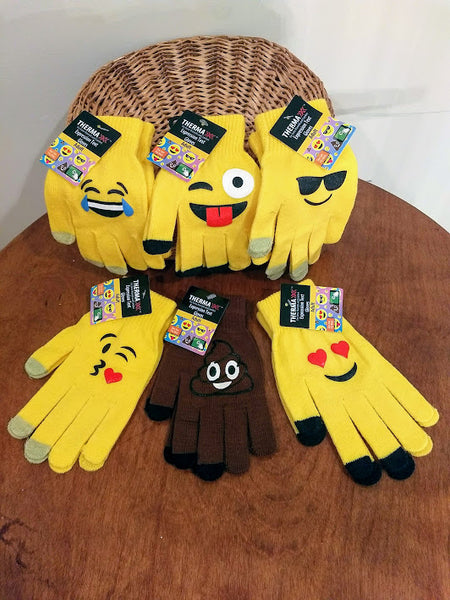 Thermaxx Emoji Text Gloves