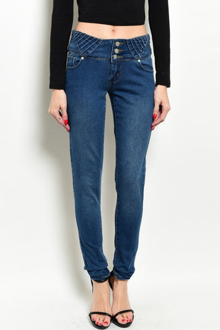 Kaba Stretch Denim Jeans