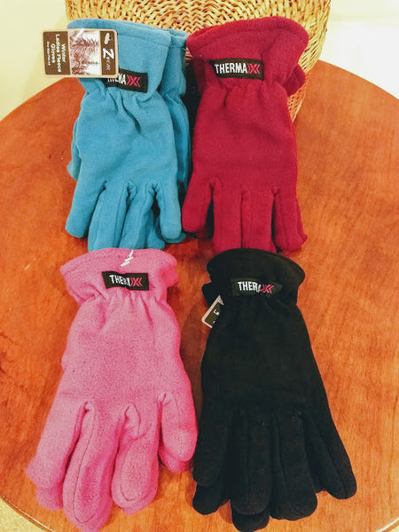Thermaxx Ladies Fleece Gloves (One Size)
