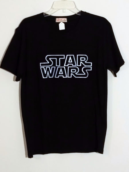 Soft 100% Cotton Black Star Wars T-Shirt (XL Only)
