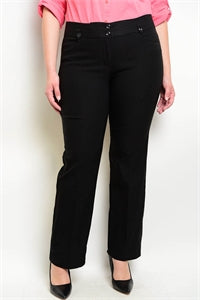 Stretch Plus Size Women's Slacks
