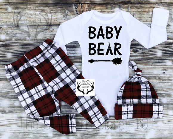 78e77b9d9 Baby Boy Coming Home Outfit,Newborn Boy Coming Home Outfit, Buffalo Plaid,  Red