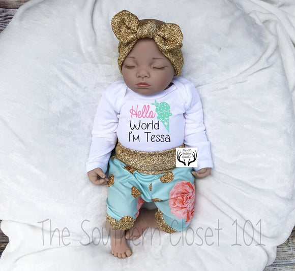 3c1372bf3d2f Baby Girl Coming Home Outfits