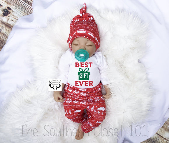 a09977c17 Baby Boy Christmas Outfit,Best Gift, Boys Christmas Outfit, Baby Christmas  Outfit,