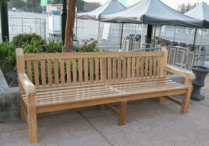 Commercial Teak Bench