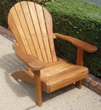 Teak Adirondack Chair Without Ottoman