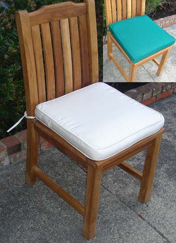 Teak Side Chair Cushion