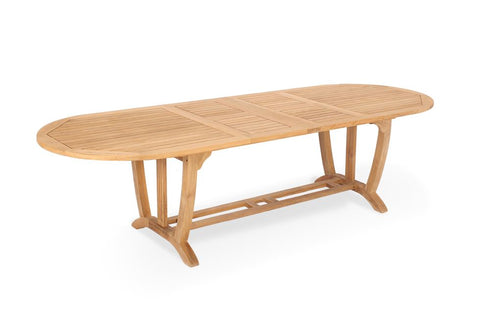 Teak Deluxe Oval Extension Table Xlarge