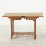 Deluxe Rectangular Double Extension Table Small