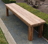 Recycle Teak Bench