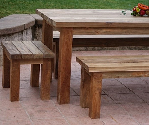 Recycle Teak Table Set