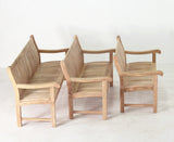Commercial Teak Bench 6f
