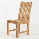 Deluxe Teak Side Chair