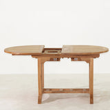 Deluxe Oval Double Extension Table Small
