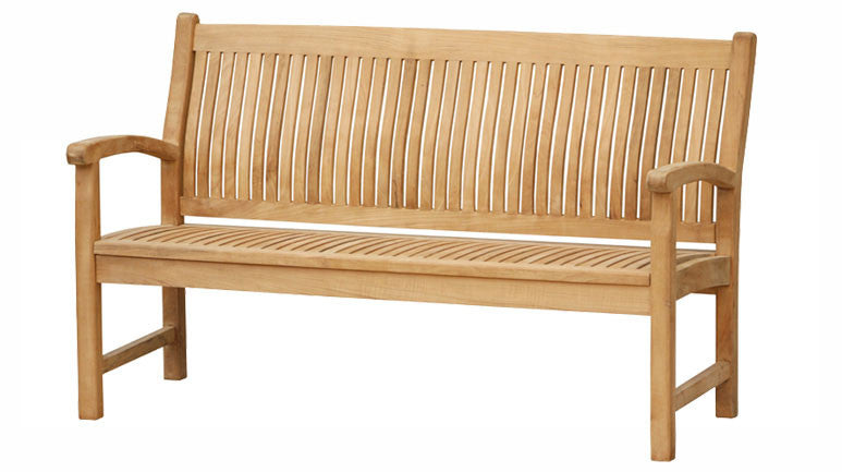 Marley Teak Bench 5 feet