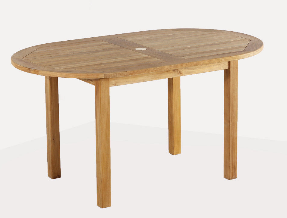 Teak Dining Table Oval