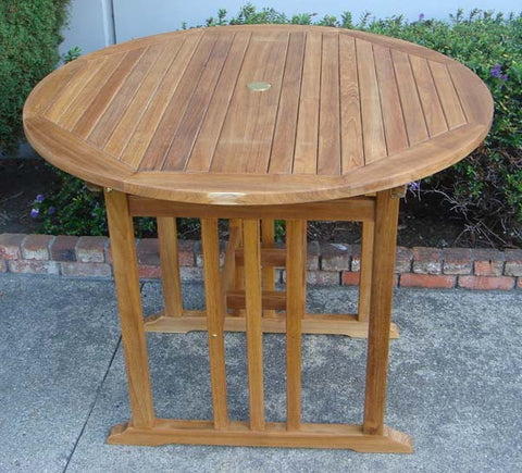 Round High Bar Table