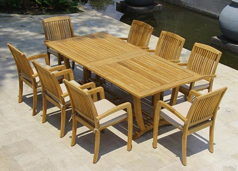Peachy Teak Furniture Online For Patio Garden Classicteak Com Ocoug Best Dining Table And Chair Ideas Images Ocougorg