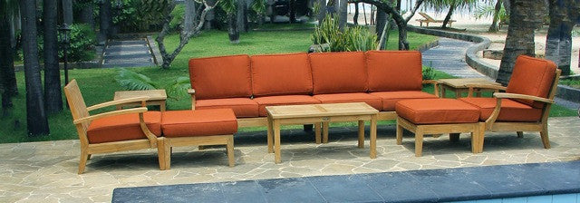 Teak Deep seating set
