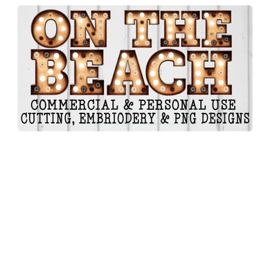 On The Beach Designs - SVGs