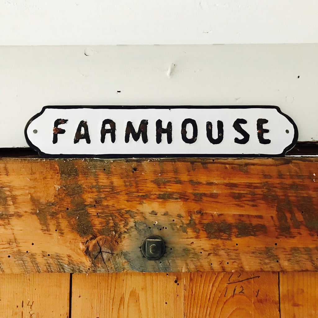 "Affichette ""Farmhouse"""