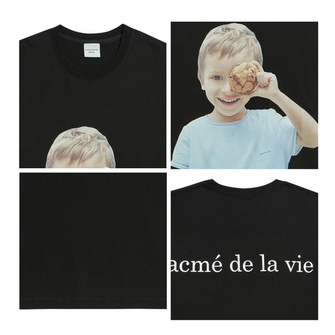 ADLV Baby Face Cookie Tee Black