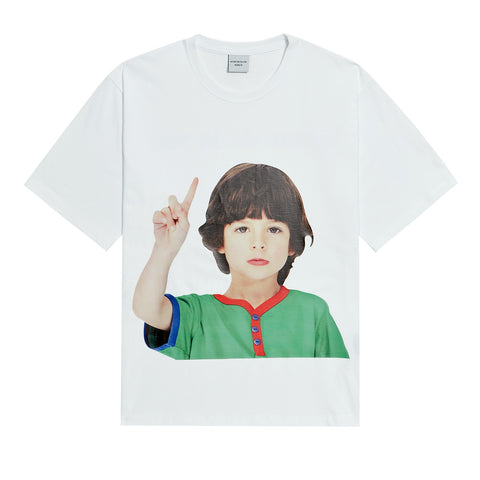 ADLV Baby Face One More Tee White