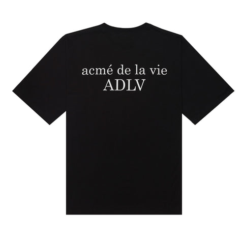 ADLV Signature Basic Logo Tee Black