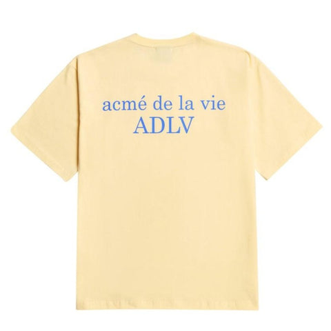 ADLV Signature Logo Tee Yellow