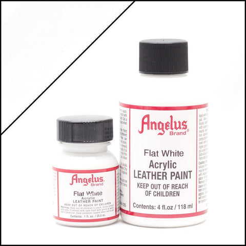 Angelus Leather Shoe Paint (Flat White)
