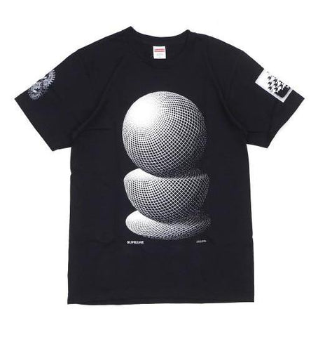 Supreme M.C. Escher Three Spheres Tee (Black)